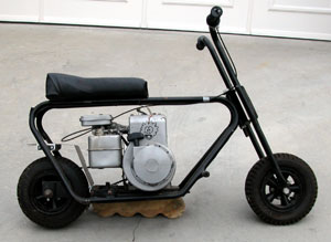briggs & stratton pit bike