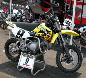 red baron tedesco pit bike